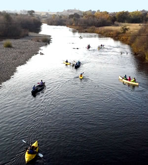 Tuolumne River Kayaking Group